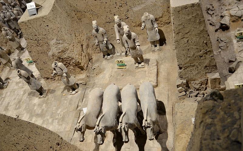 秦始皇帝陵及び兵馬俑坑の画像 p1_25